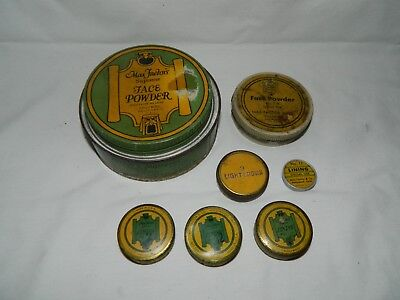 Vtg. Max Factor's Theatrical Supreme Face Powder Plus Face Paint Lining