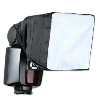 Universal Softbox for Speedlight Flash 3.5in x 3.5in Fits on Flash Head
