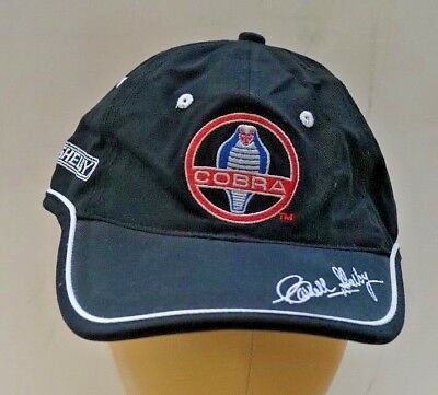 American  Authentic Carroll Shelby Collection  Ford Shelby Cobra  Cap Hat Rare