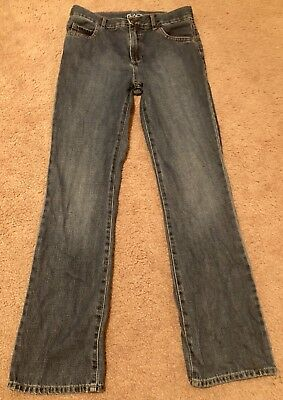 The Childrens Place Boys Jeans - Bootcut - Adjustable Waist - Size 16 Slim