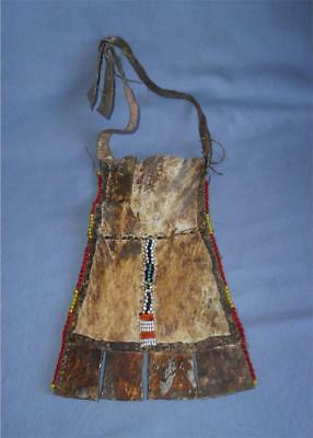 Antique East Africa TOP HIGH AGED MAASAI TRIBE BEADED HIDE CACHE SEXE LOINCLOTH