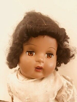 vintage black baby doll good condition