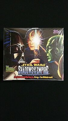1996 Topps Star Wars Shadows Of The Empire Factory Sealed Box 36 Packs