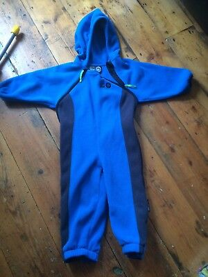 Toddler All In One Fleece 2-3