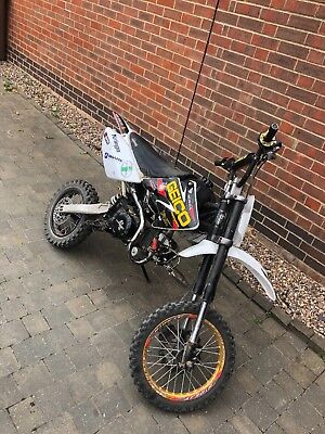 Stomp 140cc pitbike project