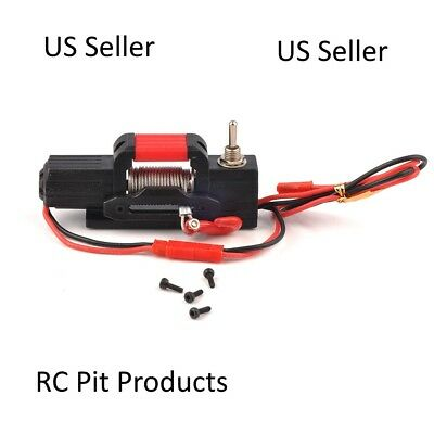 RC Electric Winch for 1/10 Axial 4WD SCX10 Traxxas D90 RC Crawler US Seller
