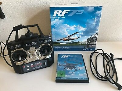 Great Planes RealFlight 7.5 RC Flight Simulator With Wired Controller