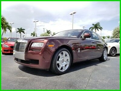 Rolls-Royce Ghost  2011 Used Turbo 6.6L V12 48V Automatic RWD Premium