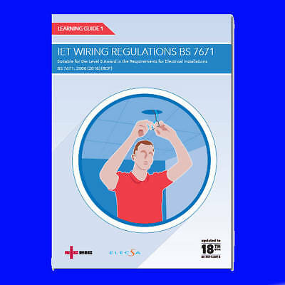NICEIC Learning Guide  IET Wiring Regulations BS7671 18th Edition Book