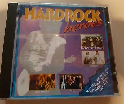 Hardrock CD Free Rush Rainbow Black Sabbath Yes ELP Asia Iron Maiden Deep Purple