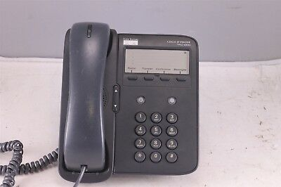 CISCO CP-7902G -CH1 IP Phone Single Line Analog Display VoIP W/ Stand