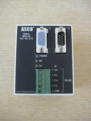 New Asco 5110 629750 300 4000 7000 ATS Transfer Switch Serial Interface Module