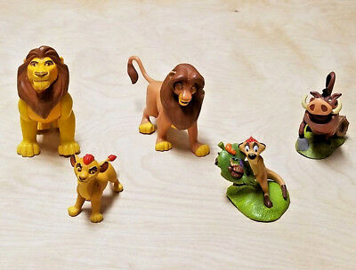 Lot of 5 Disney The Lion King Small Plastic Toy Figures