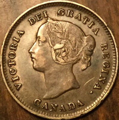 1899 CANADA SILVER 5 CENTS - Very very sharp ! REally great!
