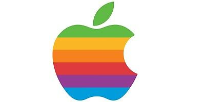 This is an Apple Rainbow Logo Sticker - TEST ITEM DO NOT BUY