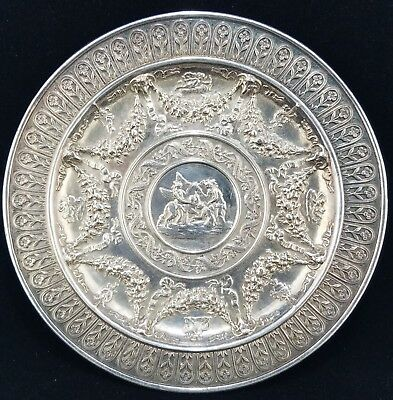 E.F. Caldwell & Co., New York Cast Sterling Silver Plate