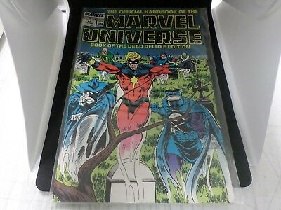 Official Handbook Of The Marvel Universe Deluxe Edition #16-20