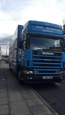 Scania , 2004 Wagon and Drag,Ideal removals truck.