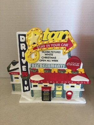 Collectible Town Square Coca-Cola Collection Star Drive-In