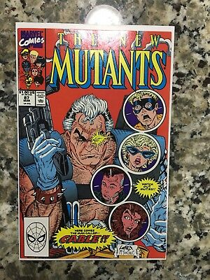 The New Mutants #87 First Cable Super High Grade Mar 1990