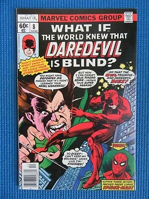 What If # 8 - (Vf+) - What If The World Knew Daredevil Was Blind