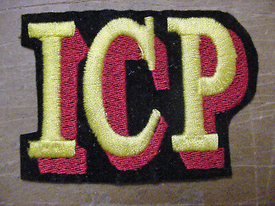Vintage lot of 2 Insane Clown Posse ICP Music Band  embroidered Iron On Patch