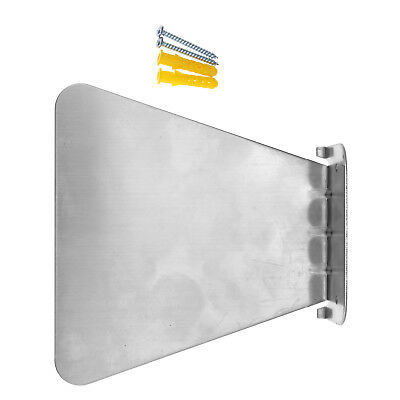 Wall Mounted Invisible Floating Conceal Steel Bookshelf w/Screws