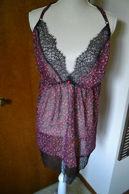 Cacique Babydoll Nightie! 22/24! Excellent Condition!