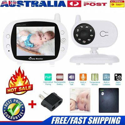 Baby Pet Monitor 3.5'' LCD Digital Wireless Audio Video Camera Security JK