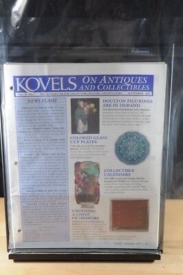 Lot of 12 Kovels On Antiques & Collectibles Magazines Sept 2003 - August 2004