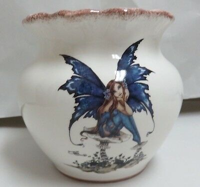 Amy Brown Ceramic Hand Painted Fairy Electric Tart Burner ACK #83665