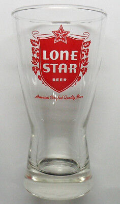 Lone Star beer hour glass from the late 50s - early 60s