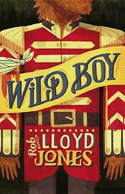 Wild Boy by Rob Lloyd Jones (English) Hardcover Book Free Shipping!