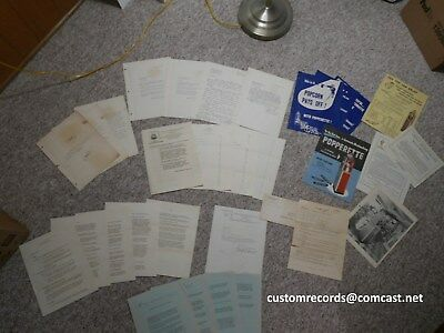 rare find popperette popcorn original manuals literature service bulletins etc