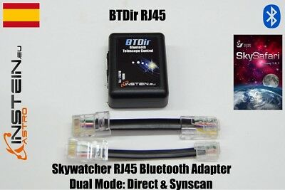Skywatcher Bluetooth Adapter RJ45 Dual Mode: Direct & SynScan - BTDir RJ45
