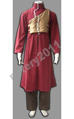 Halloween Gaara Shippuden 4th Children Cosplay Costume from Naruto Custom-made N