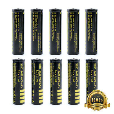 Original 18650 4000mAh Rechargeable Battery BRC 18650 Li-ion Lithium 3.7V Cell