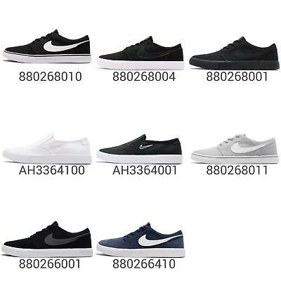 b7b63548e724 NIKE SB PORTMORE II Solar CNVS 2 Canvas Men Skateboarding Shoes Sneakers  Pick