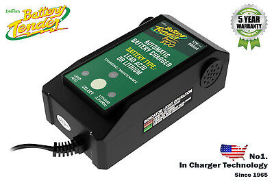 BATTERY TENDER 12v MOTORCYCLE TRICKLE BATTERY CHARGER AGM GEL LEAD ACID LITHIUM