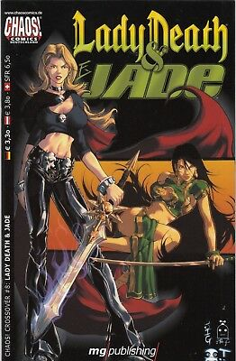 CHAOS CROSSOVER (deutsch) # 8 - LADY DEATH & JADE - MG PUBLISHING 2002 - TOP