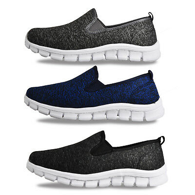 Airtech Walk Pro Superlite Womens Comfy Slip On Comfort Trainers £11.99 Free P&P