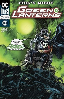 Dc Universe Green Lanterns #55 First Print