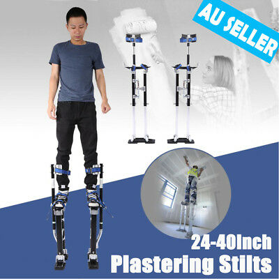 Plastering Stilts 24-40Inch Large Builders Plaster Drywall Tool Carnival Clown A