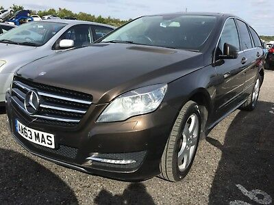 63 Mercedes-Benz R300 3.0 Cdi Bluemotion Mega Spec, Leather Nav Pan Roof 1 Owner