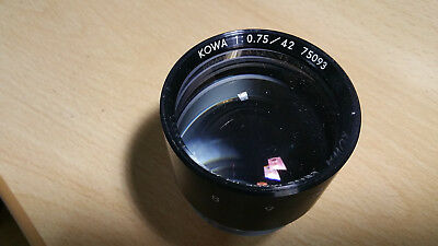ultra fast Low light night vision lens KOWA 42 mm  f0.75