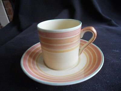 Grays Pottery Layebands design Coffee Can