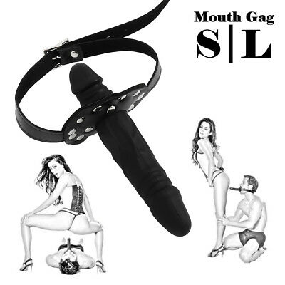 Strap On Head Bouth Ball Oral Plug Gag Restraints Set giocattoli silicone BDSM