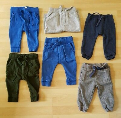 5 X Next M&S Baby Boys Jogging Bottoms Joggers Trousers 9-12 Months