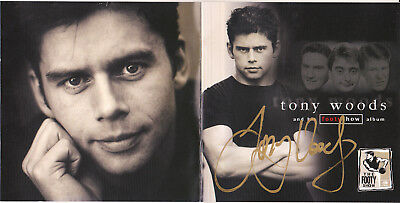 Tony Woods and his Footy Show AFL Album - Rare Signed Autographed CD - Hawthorn