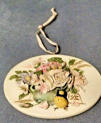 Marjolein Bastin Garden or Wall Hanging/ Tile Plaque Nature's Sketchbook Flowers